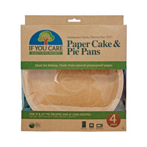 If You Care Paper Cake and Pie Pans 4Ct - 6 Pack - The GreenLine Market
