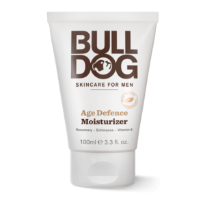 Bulldog Men's Natural Skincare Moisturizer - Age Defense - 3.3 Fl Oz