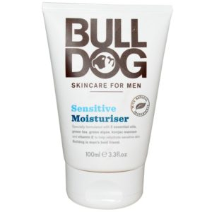 Bulldog Men's Natural Skincare Moisturizer - Sensitive - 3.3 Fl Oz