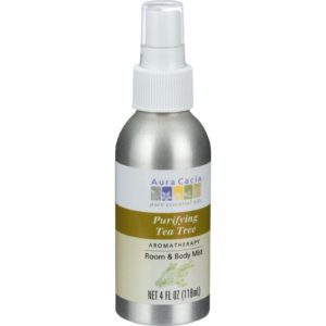 Aura Cacia Room & Body Mist Spray - Purifying Tea Tree -  4 oz