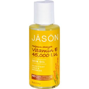 Jason Vitamin E Pure Natural Skin Oil Max Strength 45000 IU The GreenLine Market