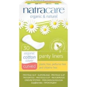 Natracare Curved Panty Liners - Organic & Plastic Free The GreenLine Market