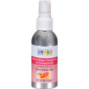 Aura Cacia Room & Body Mist Spray - Tangerine Grapefruit - 4 oz