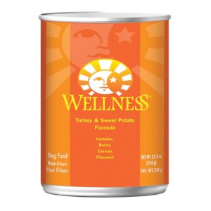 Wellness Dog Food - Turkey Sweet Potato - 12.5 Oz - Case Of 12