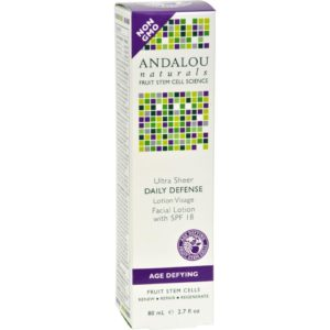 Andalou Naturals Ultra Sheer and Light Daily Defense Facial Lotion With Spf 18 - 2.7 Fl Oz