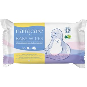 Natracare Organic Cotton Baby Wipes The GreenLine Market