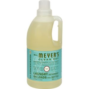 Mrs. Meyer's 2x Laundry Detergent - Basil The GreenLine Market