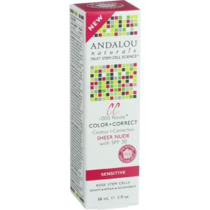 Andalou Naturals Face Sunscreen The GreenLine Market