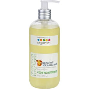 Nature's Baby Shampoo Body Wash Coco Pineapple 16oz