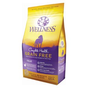 Wellness Dog Food - Chicken Recipe - Case Of 6 - 4 Lb.