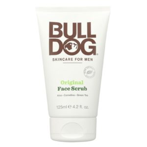 Bulldog Men's Natural Vegan Skincare Face Scrub - Original - 4.2 Fl Oz