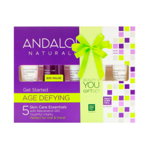Andalou Naturals Get Started Age Defying - 5 Piece Kit - The GreenLine Market