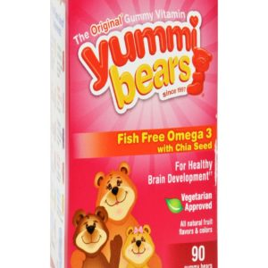 Hero Nutritionals Yummi Bear - Omega 3-6-9 - 90 Count