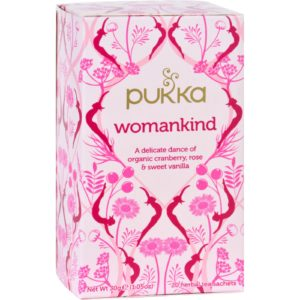 Pukka Womankind Organic Tea - Case Of 6 - 20 Bags Each. Ethical & Sustainable. The GreenLine Market