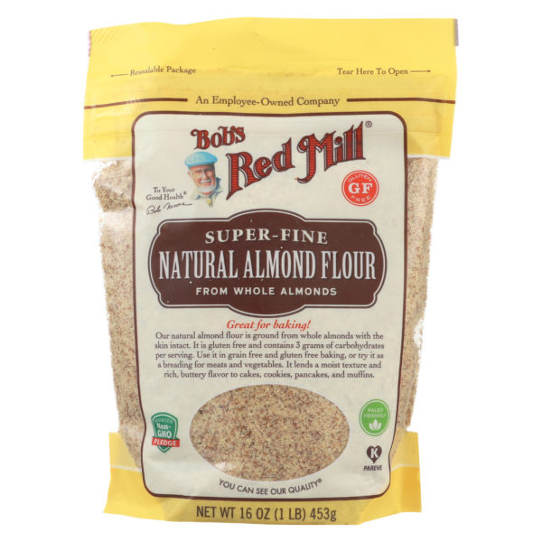 Bob's Red Mill Almond flour - Unblanched Fine Ground - Case Of 4 - 16 Oz Each. The GreenLine Market