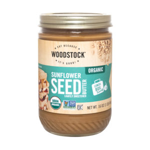 Woodstock Organic Sunflower Seed Butter - Lightly Sweetened. Organic & Non GMO. The GreenLine Market