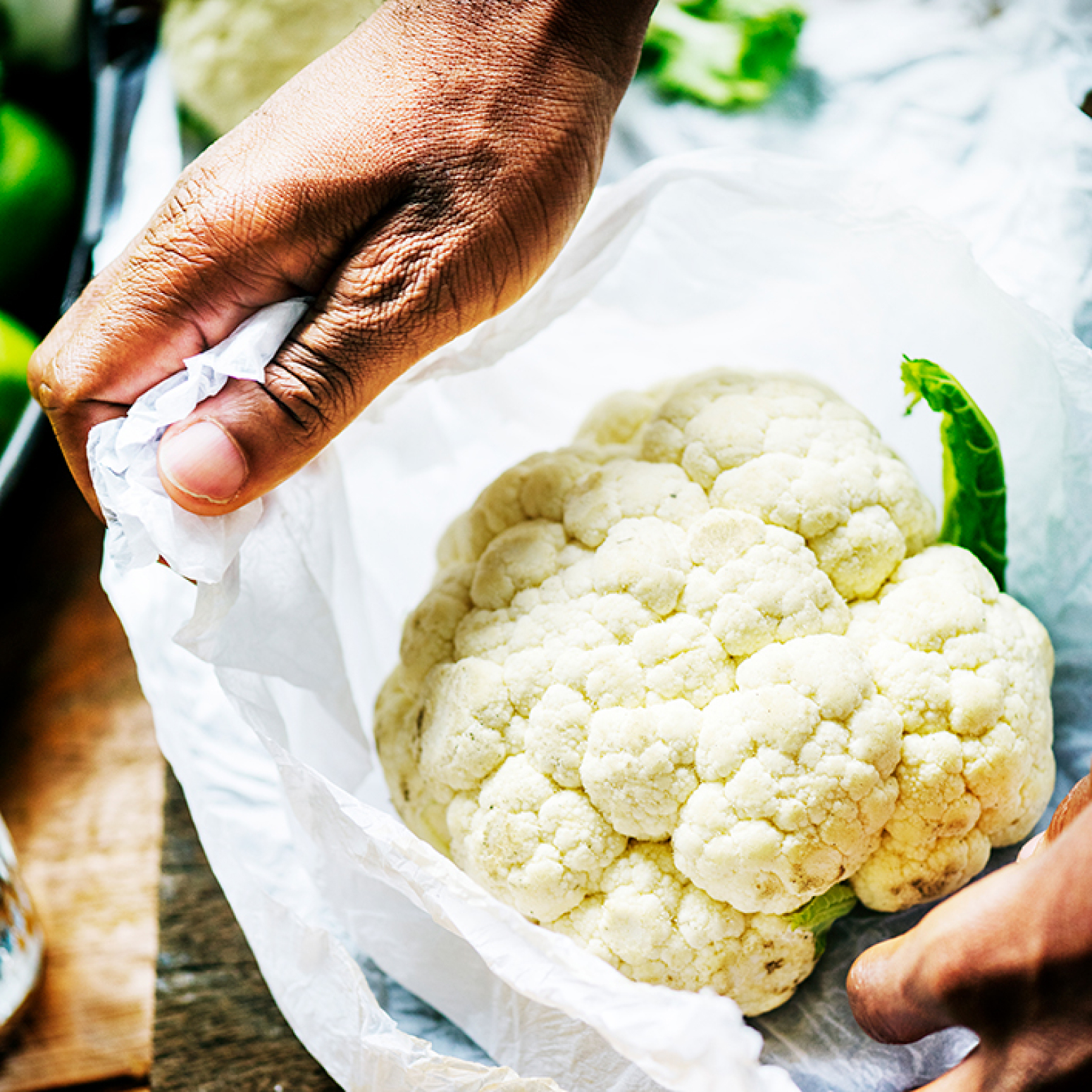 Vegan Cauliflower Mashed Potatoes - The GreenLine Market
