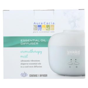 Aura Cacia Ultrasonic Essential Oil Diffuser. Supports charity. The GreenLine Market