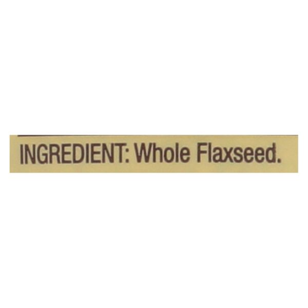 Bob's Red Mill Flaxseeds - Case Of 6
