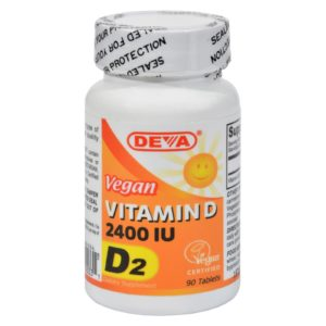 Deva Vegan Vitamin D - 2400 IU - 90 Tablets