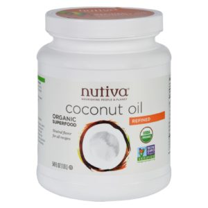 Nutiva Refined Organic Coconut Oil - 54 Oz. Certified Organic & Non GMO. The GreenLine Market