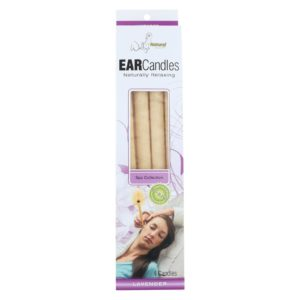 Wally's Natural Lavender Paraffin Ear Candles - 4 Candles