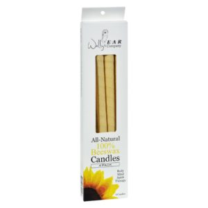 Wally's Natural Ear Candles Beeswax - 4 Candles