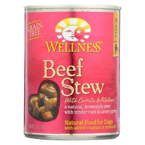 Wellness Dog Food - Beef Carrot Potato - 12.5oz - Case Of 12