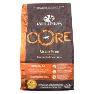 Wellness Dry Dog Food - Original Formula - 4lb - Case Of 6