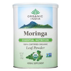 India Organic Non GMO Moringa Leaf Powder - 8oz