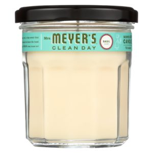 Mrs. Meyer's Soy Candle Long Lasting - Basil - 7.2oz