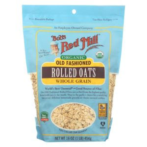 Bob's Red Mill Organic Rolled Oats - Old Fashioned - 16 oz - Case Of 4
