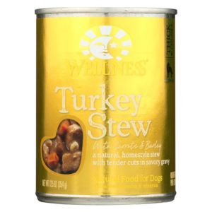 Wellness Dog Food - Turkey Barley Carrots -12.5 Oz. - Case Of 12