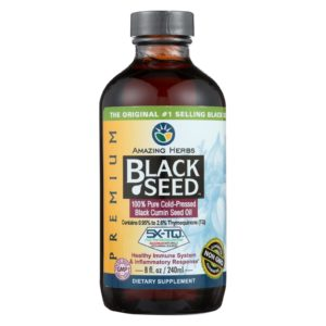 Amazing Herbs Black Seed Oil - 8 Fl Oz - The GreenLine Market