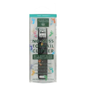 Earth Therapeutics Toenail Clipper with Catcher The GreenLife Market
