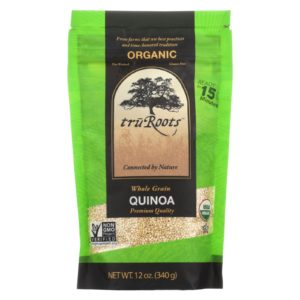 Truroots Organic Whole Grain Quinoa - 12 Oz. - Case Of 6