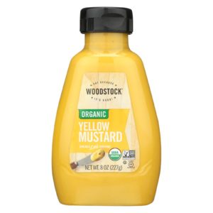 Woodstock Organic Yellow Mustard - 8 Oz. - The GreenLine Market