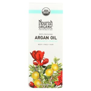 Nourish Organic Argan Oil Hair Skin Nails The GreenLine Market
