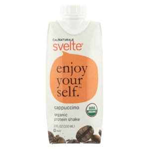 Svelte Organic Protein Shake Drink Cappuccino The GreenLine Market