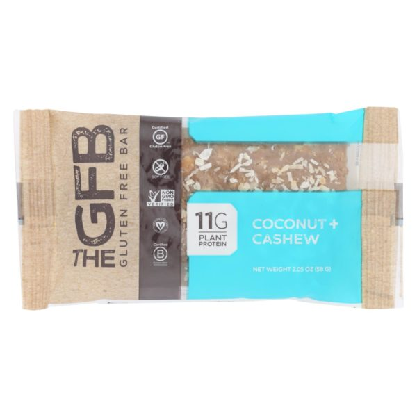 Gluten Free Bar Cashew Coconut 2.05oz - Case Of 12