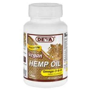 Deva Hemp Oil Omega 3 6 9 The GreenLine Market