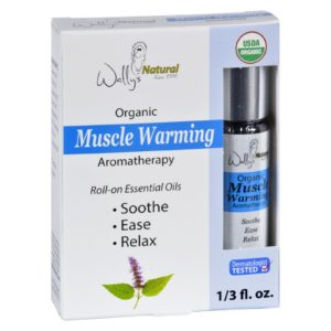 Wallys Natural Products Aromatherapy Blend Organic Essential Oils Roll on Muscle Warming The GreenLine Market