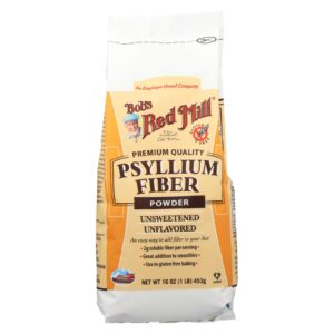 Bobs Red Mill Powder Psyllium Fiber Case Of 4 16 Oz The GreenLine Market