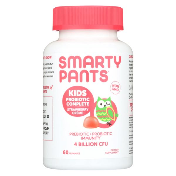 Smartypants Probiotic for Kids Strawberry Creme - 60 Ct