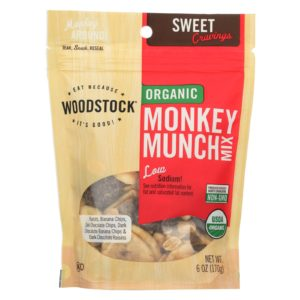 Woodstock Organic Snack Mix Monkey Munch The GreenLine Market