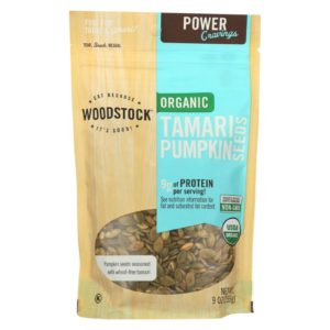Woodstock Organic Pumpkin Seeds with Tamari The GreenLine Market