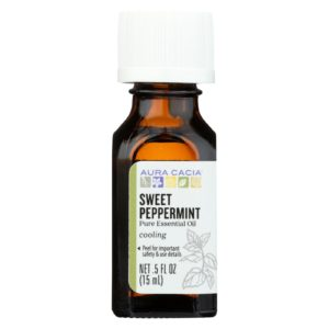 Aura Cacia Sweet Peppermint Essential Oil - 50oz