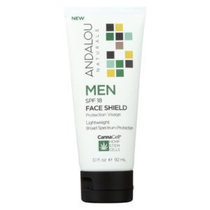 Andalou Naturals - Face Shield Men Spf 18 - 3.1oz