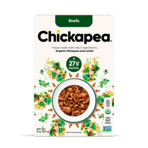 Chickapea Chickpea Pasta Shells Organic - The GreenLine Market
