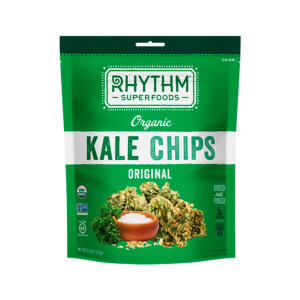 Rhythm Superfoods Organic Kale Chips Original - The GreenLine Market